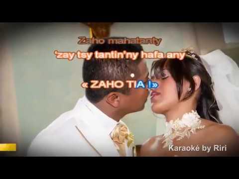 Ny Ainga - Zaho ho vadinao (karaoké by Riri)