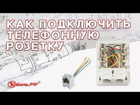 Подключение телефонной розетки и Ip-телефонии. Как установить и подключить телефонную розетку?