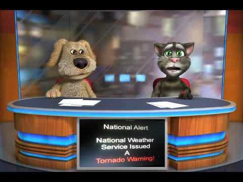 Talking Tom & Ben News: Tornado Warning