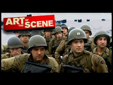 Saving Private Ryan's Omaha Beach - Art of The Scene