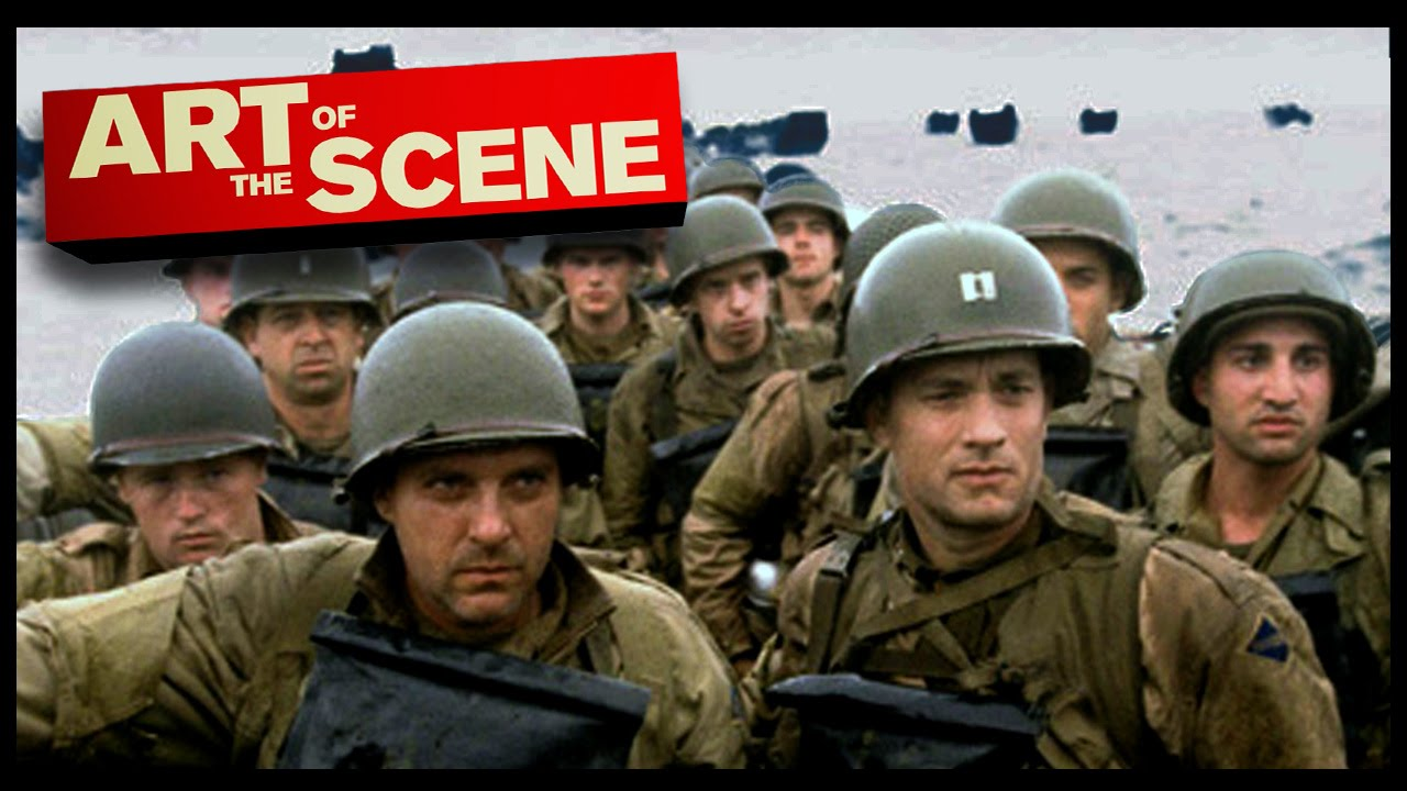 saving private ryan s omaha beach art of the scene