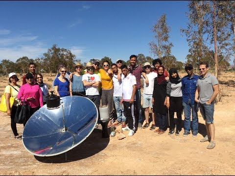 "SonS Festival 2017, Emmanuel THIBAULT from FRANCE : ""Distilla'Sun"" and ""Solar cooker"""