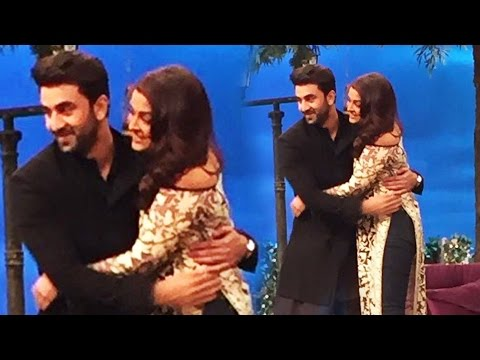 Ranbir Kapoor & Aishwarya Rai's ROMANTIC HUG At The Kapil Sharma Show - Ae Dil Hai Muskhil