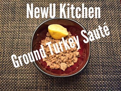 Healthy Ground Turkey Saute