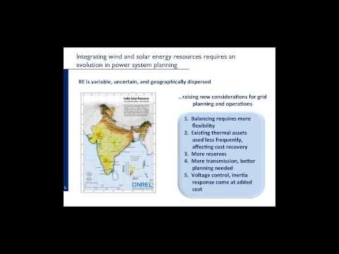 Greening the Grid Webinar: Integrating Variable Renewable Energy into the Grid