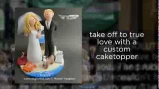 Wedding caketoppers made just for you | wedding cake toppers