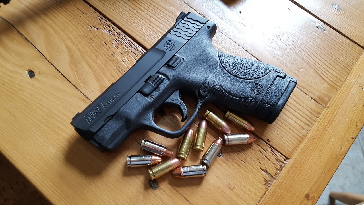 Smith And Wesson 12039 Unboxing: Smith And Wesson M&P Shield 9mm