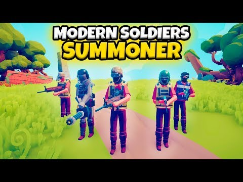 modern-soldiers-summoner-vs-every-faction-|-tabs-modded-gameplay