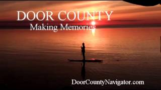 Door County Making Memories | Sunset Paddle Board - Door County Activities