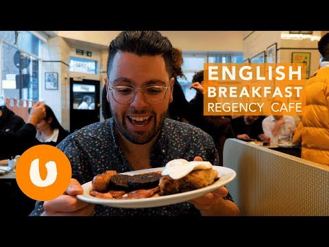 Best English Breakfast in London | Regency Cafe