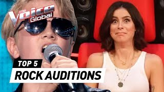 SHOCKING ROCK AUDITIONS in The Voice Kids 🤟