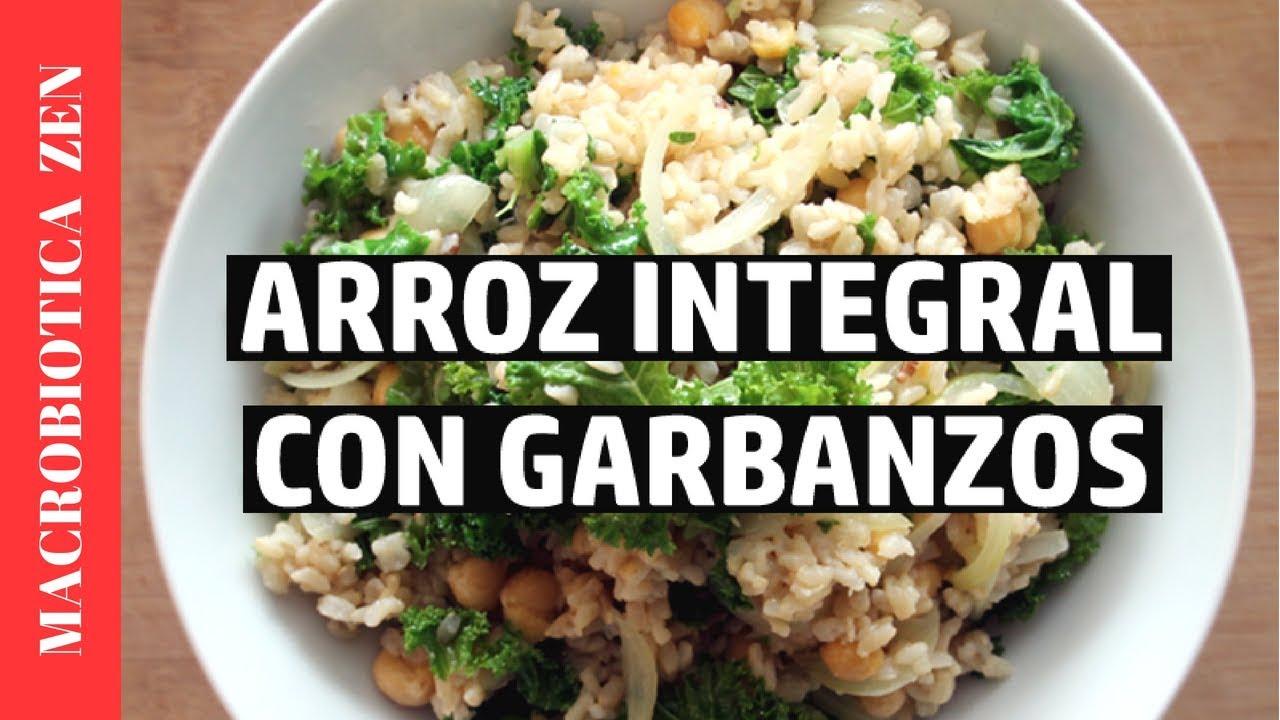 recetas sanas con arroz integral