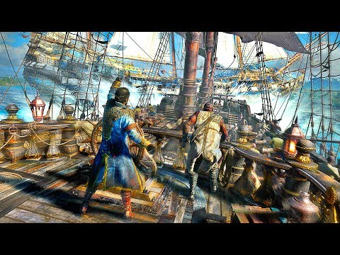 SKULL AND BONES Gameplay Demo + All Trailers (E3 2017)