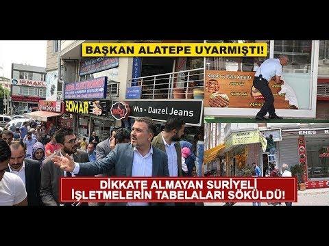 Esenyurt'ta Suriyeli esnafa Türkçe...