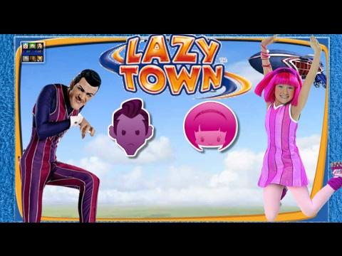 ZIGGY LAZY TOWN CHALLENGE - (Robbie Rotten - Stephanie)