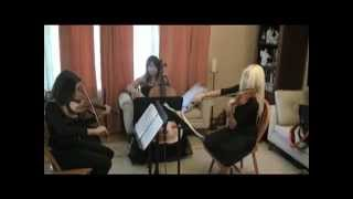 Los Angeles String Trio - Classical Demo - Wedding Ceremony Musicians