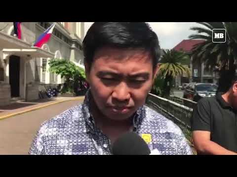 Junjun Binay on joining the Mayoral race in Makati City going against his sister Abby Binay.