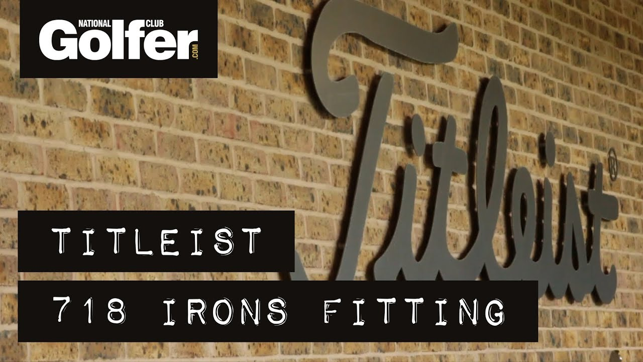 Titleist 718 irons fitting - Which models did we get?