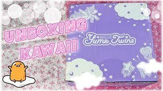 UNBOXING KAWAII - 1st Yume Twins ► Gudetama, Sailor Moon...