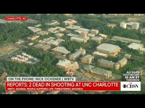 UNCC school shooting: Active shooter reported at UNC Charlotte, live stream