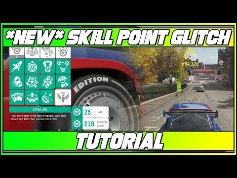 *New* Skill Points Glitch! Tutorial (Forza Horizon 4) thumbnail