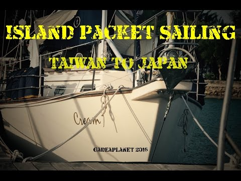 "Island Packet 40 ""Cream"" Taiwan to Okinawa"