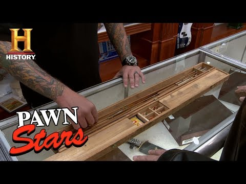 Pawn Stars: Antique Fly Fishing Rod | History