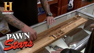pawn stars antique fly fishing rod   history