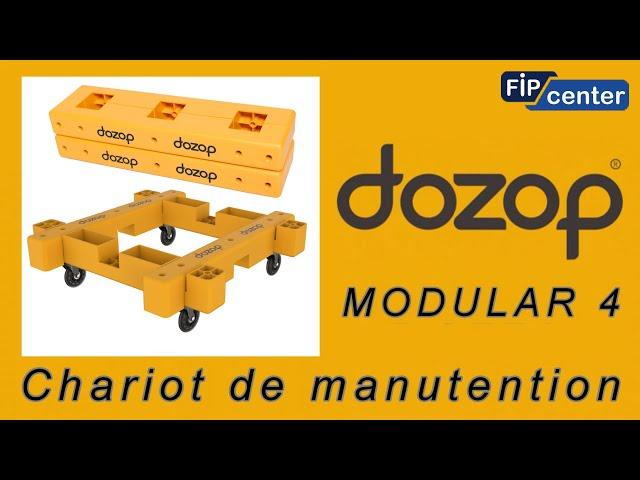 FIPCENTER CHARIOT DE MANUTENTION DOZOP MODULAR 4 CAPACITE 115 KG