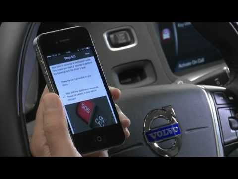Sensus Connect: Adding your car in the Volvo on Call app