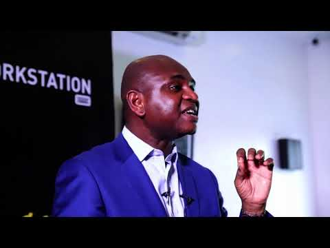 Prof Kingsley Moghalu interactive session with  Entrepreneurs at The Workstation Nigeria