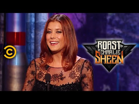 Roast of Charlie Sheen: Kate Walsh - Charlie's Abuse (Comedy Central)