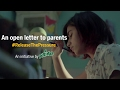 Teens Write Open Letters On Parental Pressure And It's High Time Parents #ReleaseThePressure