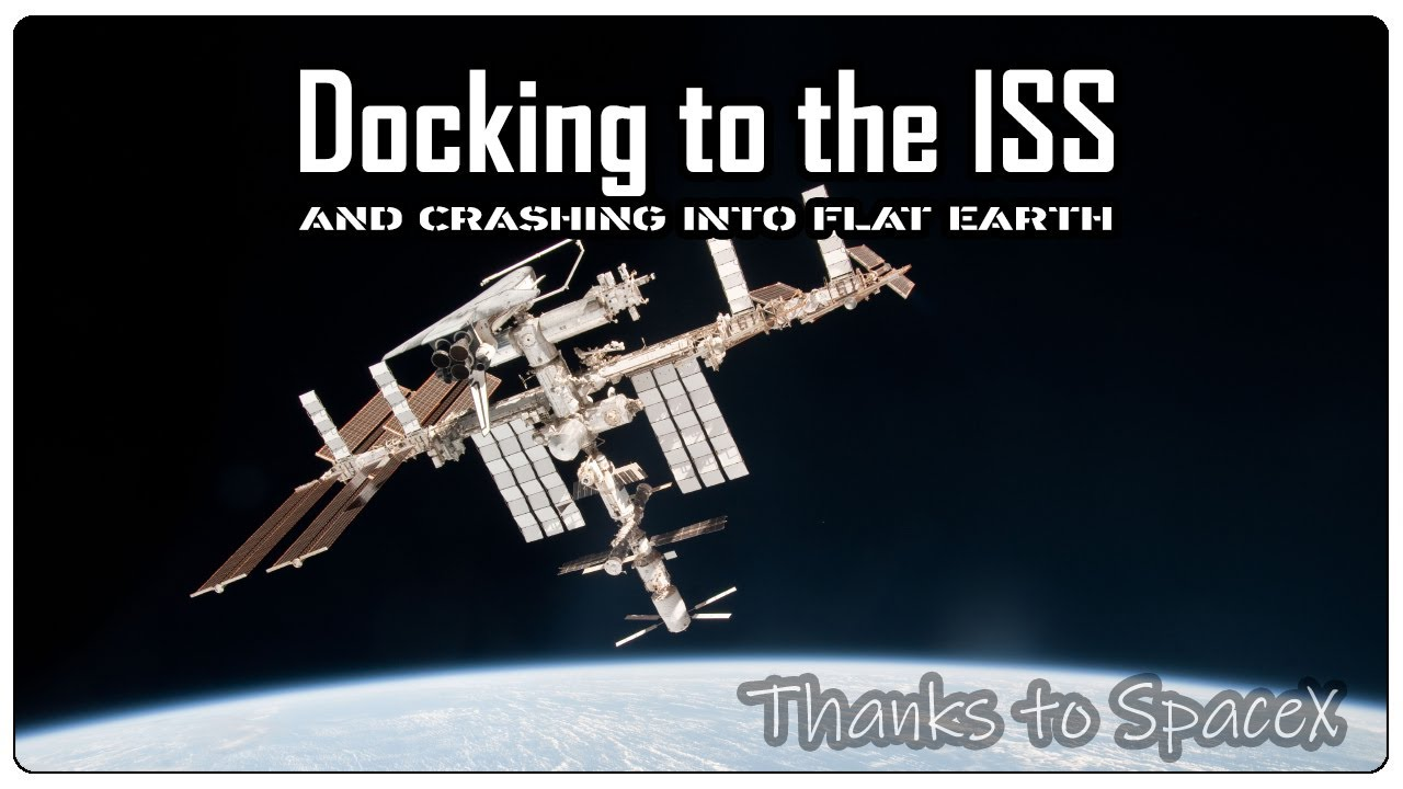 GeoShifter fails to dock to the ISS and crashes into Flat Earth