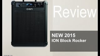 NEW 2015 ION Block Rocker iPA76C for Tailgating or Back Yard parties