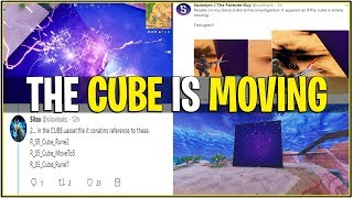 *NEW* Fortnite: LEAKED THE CUBE IS MOVING! *Sound FX and More* | (Cube Event)