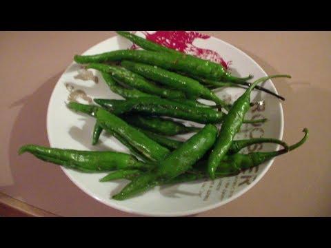Ajwain chillies recipeవాము మిరపకాయలు పెరుగన్నం లోకి చాలా బాగుంటాయి