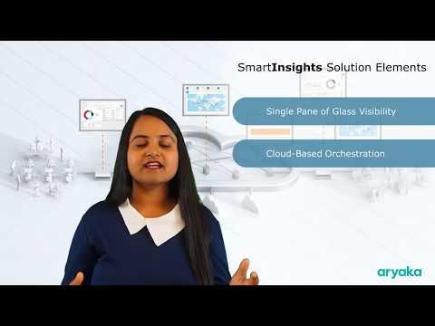 SmartInsights | Insights and Analytics as-a-Service | Aryaka
