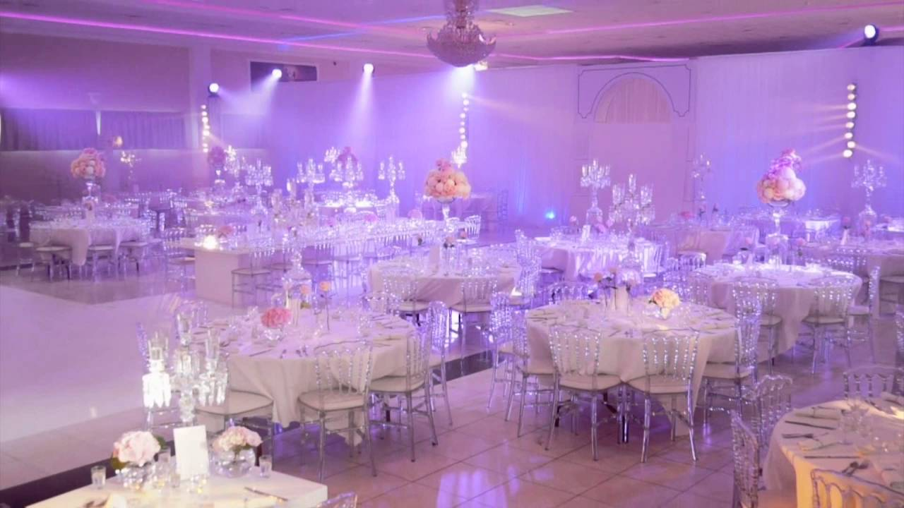 Salle elys e mariage the most beautiful wedding hall in - Photo de salle de mariage decoree ...