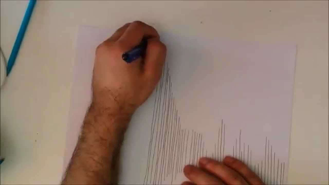 How To Draw Straight Line In Art Studio : Drawing vertical lines basic freehand youtube