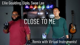 Ellie Goulding Diplo Swae Lee Close To Me Virtual Reality EDM Cover.mp3