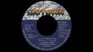 Diana Ross ~ Love Hangover 1976 Disco Purrfection Version