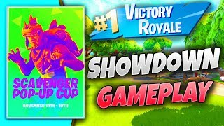 SCAVENGER POP-UP CUP CONSOLE PIN GRIND FAMILY FRIENDLY FORTNITE LIVESTREAM GUIDED_YOUTUBE 1416 WINS