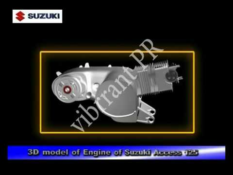 How technology works oil lubrication in scooter engine for How does motor oil work
