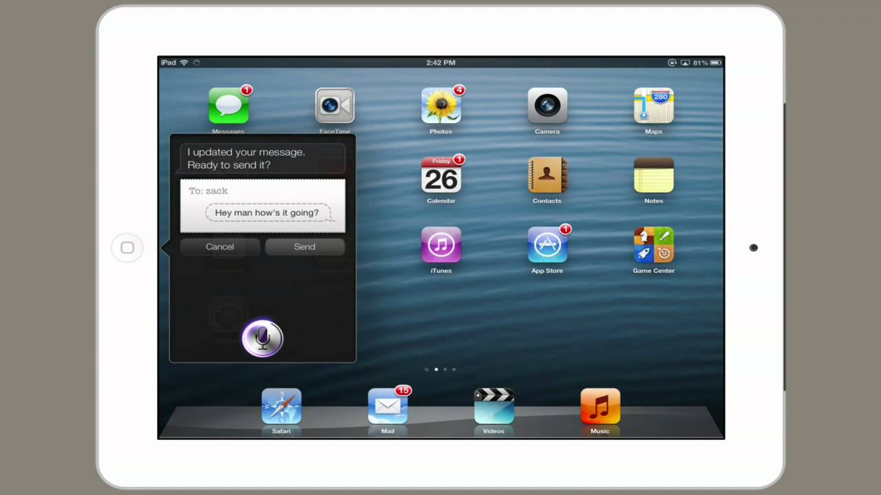 how to get siri on your ipad