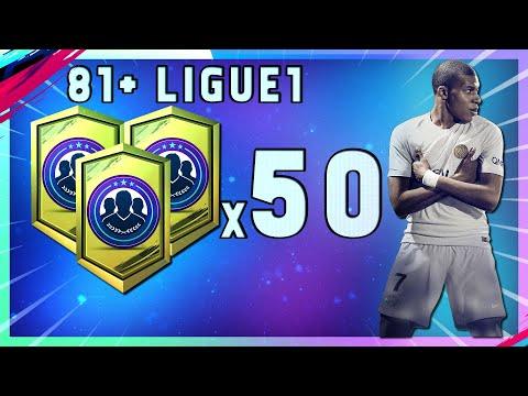 🔴 🔴 FUT 19 LIVE - 50 PACK LIGUE 1 81+ - RÉCOMPENSES FUT CHAMPION FIFA 19/ACHAT REVENTE