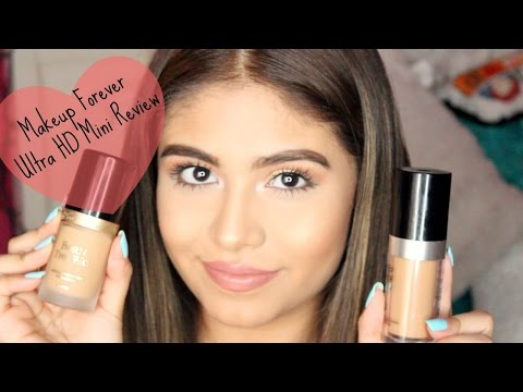 Makeup Forever Ultra HD Foundation Review & Demo | First Impression | BeautyThroughBri