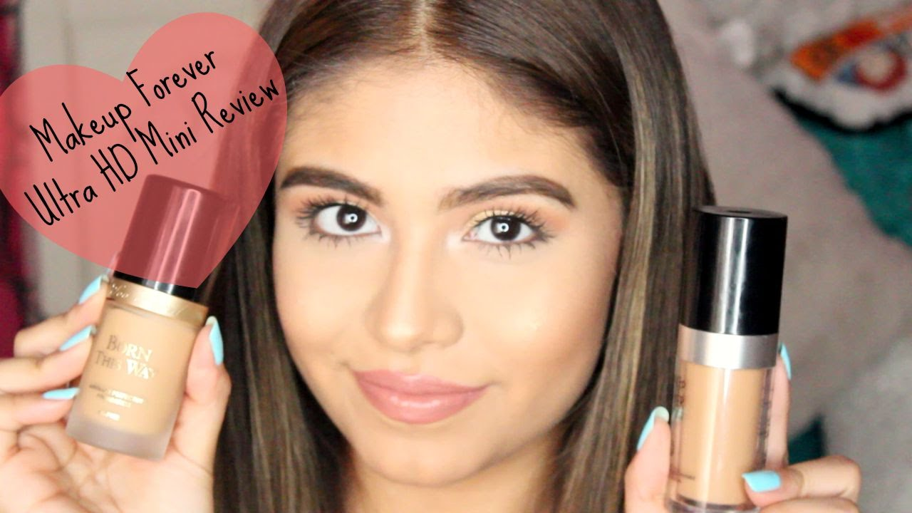 Makeup forever hd foundation mini