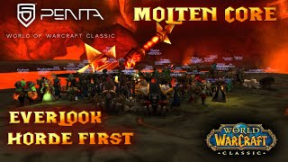 World of Warcraft  Classic | Molten Core | Ragnaros | Horde First | Everlook DE | PENTA thumbnail