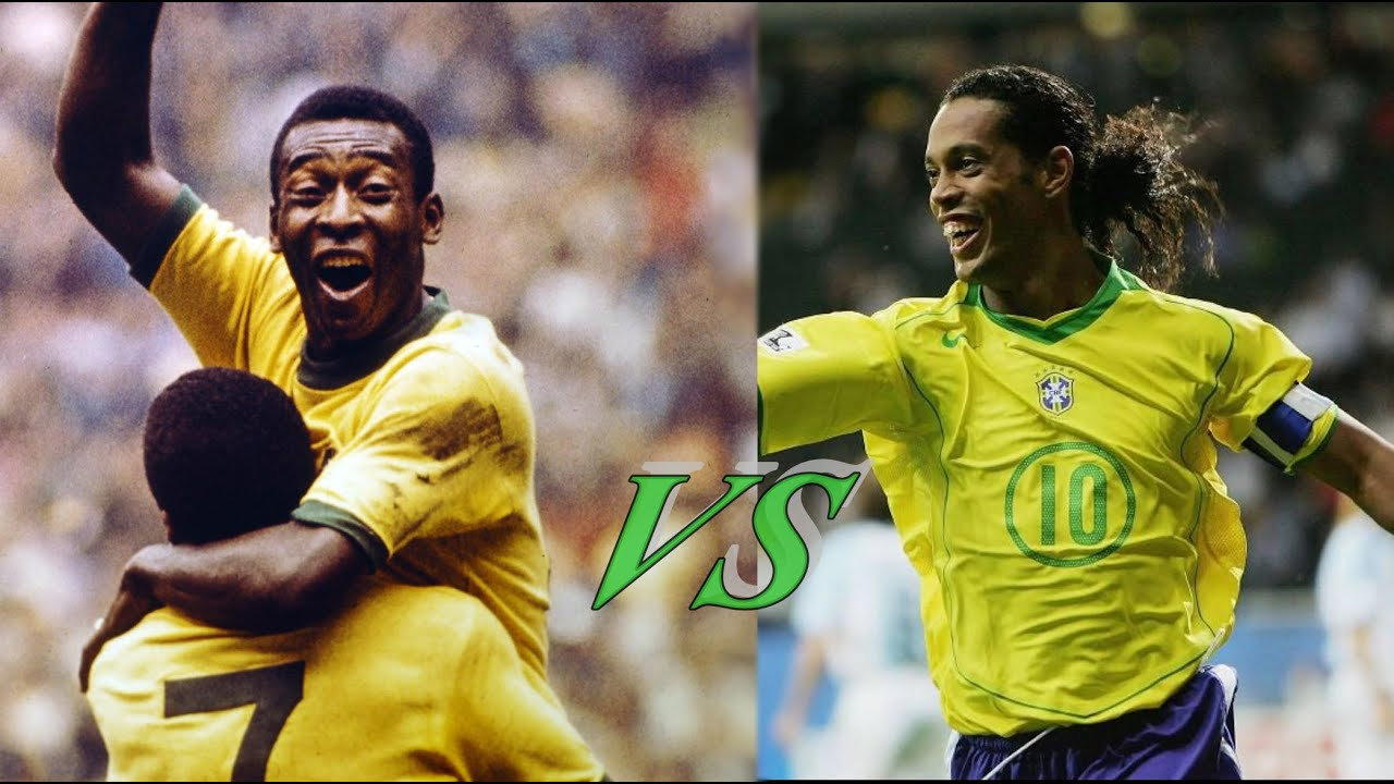 Samba do brasil ♪♫♪ Ronaldinho vs Pelé